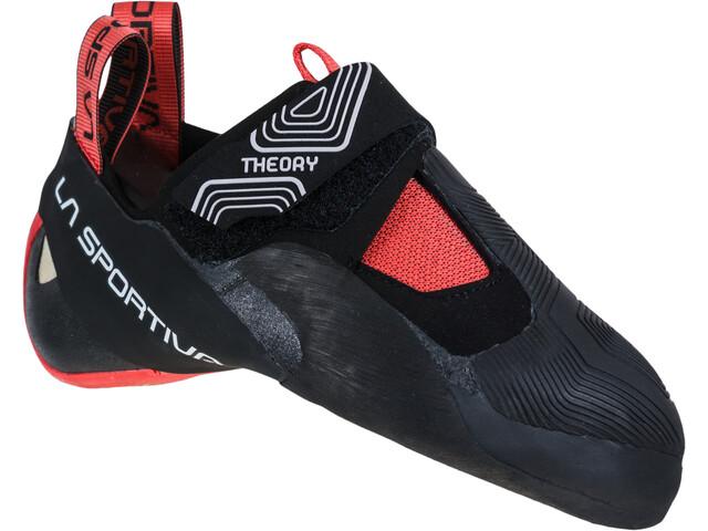 La Sportiva Theory Klatresko Damer, sort/rød